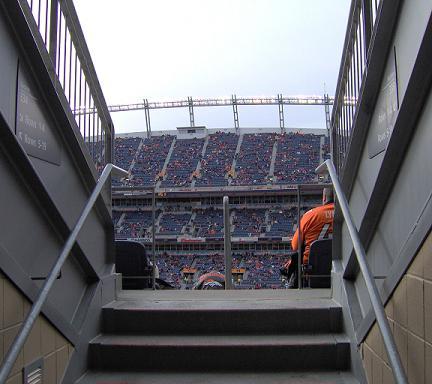 Football Stadium in Indianapolis