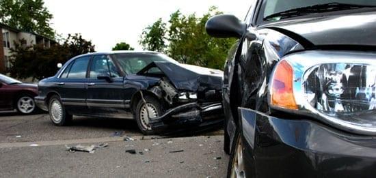 Indianapolis car wreck