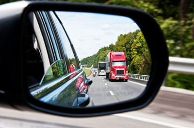 Truck's blind spots cause accidents
