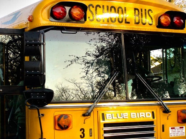 School bus accident leaves children injured