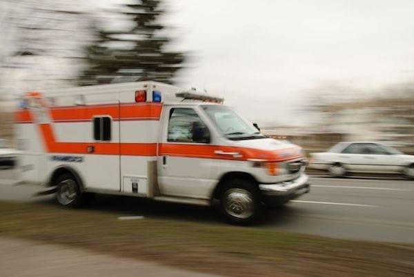 Indianapoliscaraccident&#;ambulance
