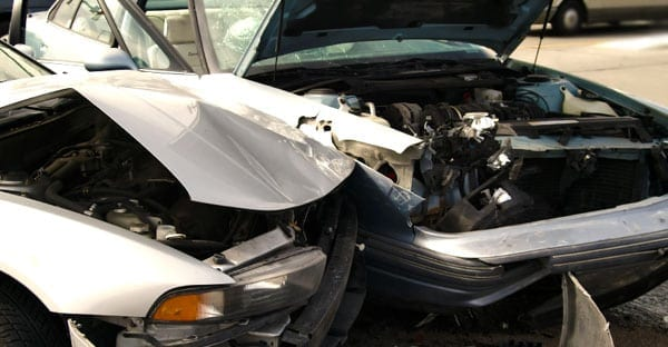 Car accident with injuries