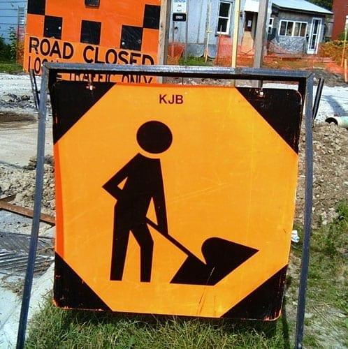 Roadside Construction Dangers
