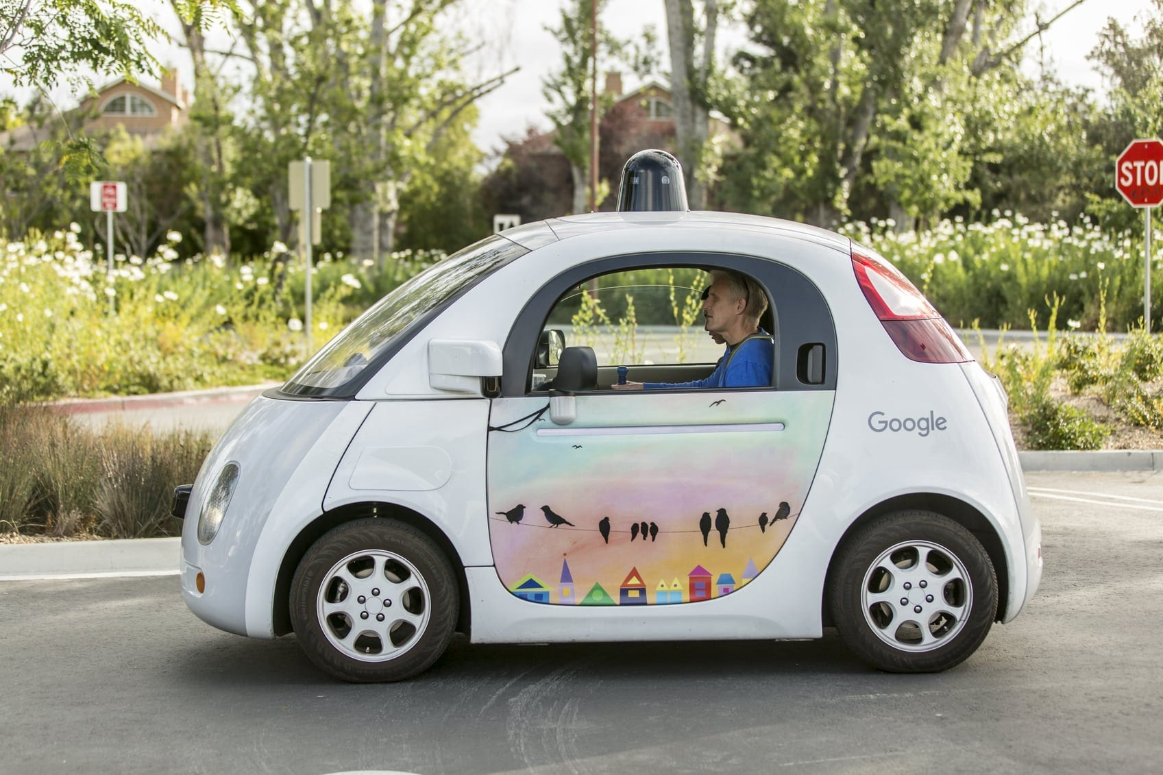 Google Maps Vehicle Stock Photo