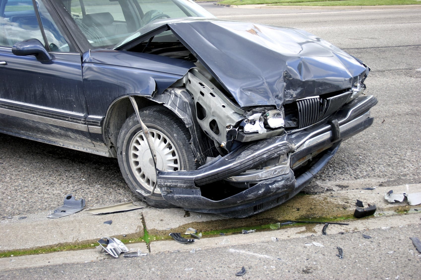 car accident total loss