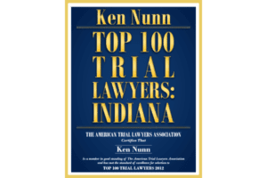 Ken Nunn - Top 100 Trial Lawyers In Indiana Logo