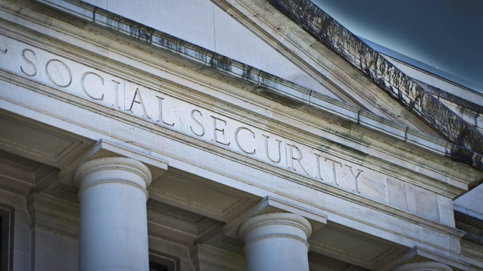 Social Security Agency Government Building Sign