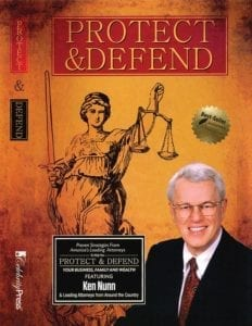 Protect & Defend Book Featuring Ken Nunn