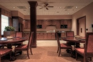 Kitchen and Dining Area - Ken Nunn Law Office