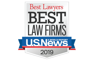 U.S. News Best Law Firms 2019 Badge