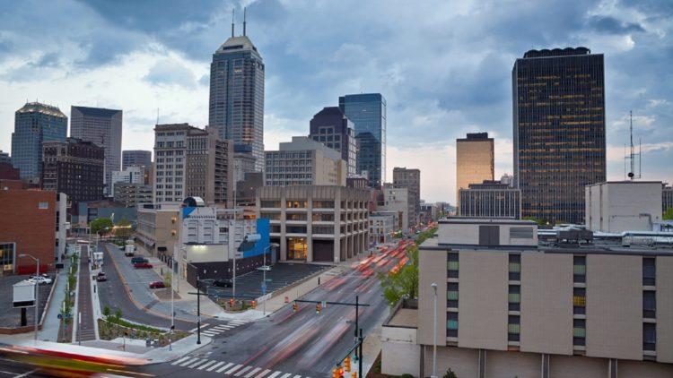 Indianapolis, Indiana Skyline