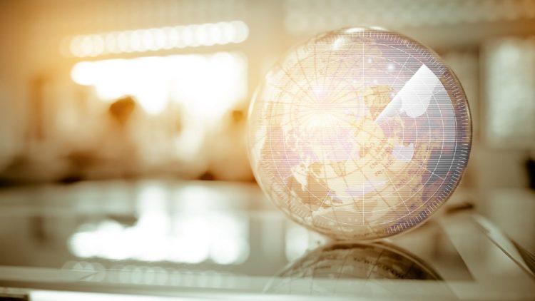 Model Globe Stock Photo