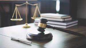 Judge's Gavel Stock Photo