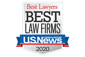 U.S. News Best Law Firms 2020 Badge