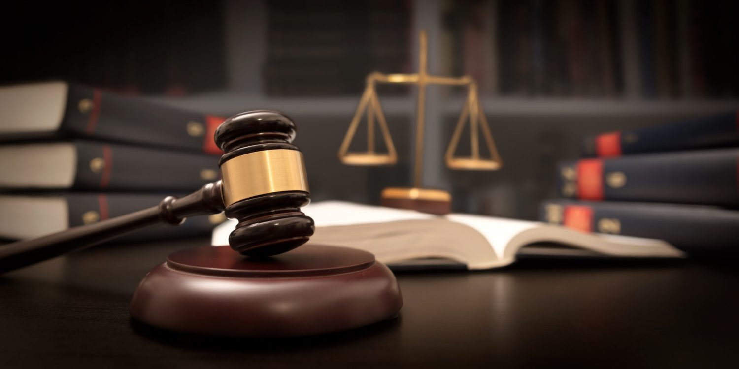 Judges gavel and the scales of justice