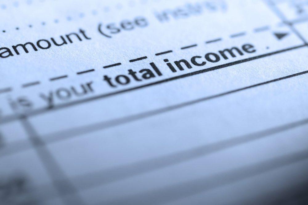 Tax Returns Stock Photo