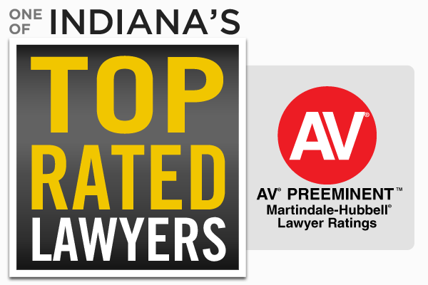 Indiana's Top Rated Lawyers Logo - Martindale-Hubbell