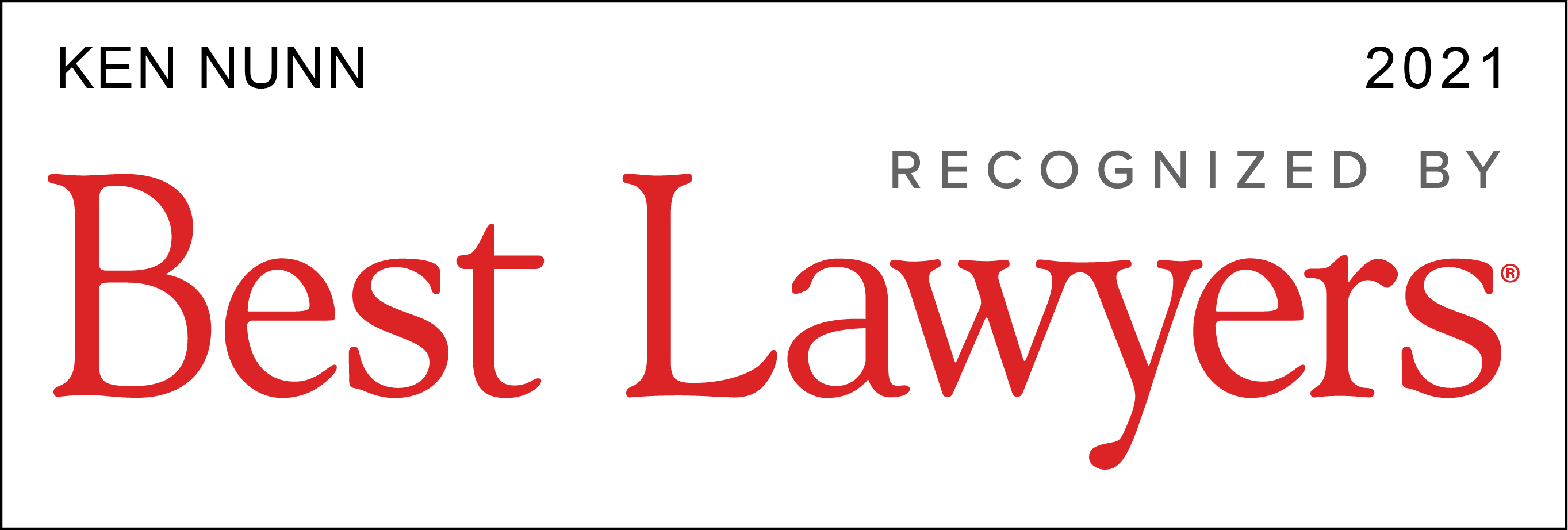 The Best Lawyers In America Logo 2021